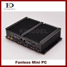 Тонкий клиент Mini PC с 2 ГБ Оперативная память 32 ГБ SSD Intel Celeron 1037U двухъядерный Процессор, 2*1000 м LAN, 4 * COM, 2 * USB 3.0 300 м Wi-Fi, HDMI