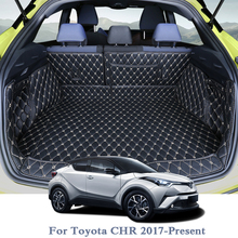 купить For Toyota CHR 2017-Present Car Boot Mat Rear Trunk Liner Cargo Floor Carpet Tray Protector Accessories Mats по цене 7919.11 рублей