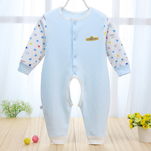 Jumpsuit Real Animal Unisex Novelty Body Baby Baby Set 2016 New Male And Female Cotton Romper Suit Cardigan Climb Clothes 0-2t