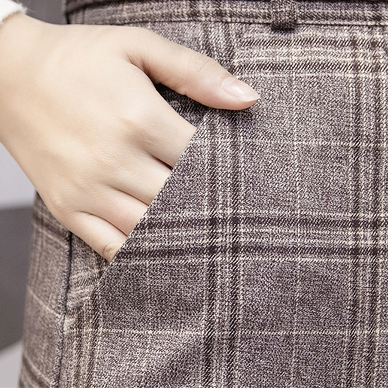 Fashion plaid skirt 5
