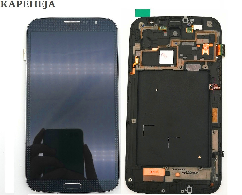 For <font><b>Samsung</b></font> Galaxy Mega 6.3 <font><b>i9200</b></font> i9205 LCD Display Touch Screen Digitizer Assembly image