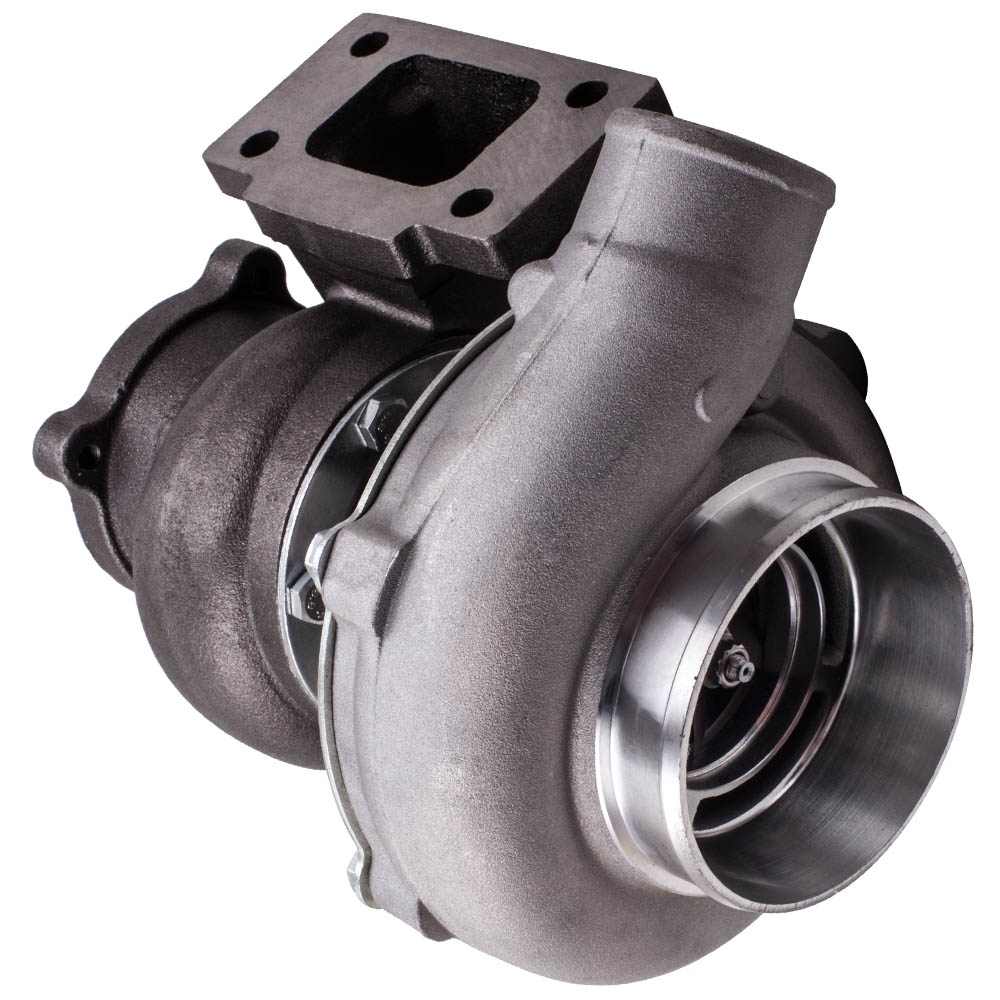 Image 3 - GT30 GT3037 GT3076 T3 Flange Water Cooled Turbocharger For all 6 8 cyl engine T3.82A/R 51 TRIM POLISHED TURBO CHARGER GT30 500HPTurbo Chargers & Parts   -
