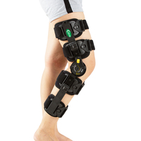 Hinged Knee Patella Brace Support Stabilizer Pad Belt Band Strap Orthosis Splint Wrap Immobilizer ROM Knee