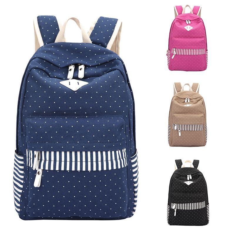 Backpack Women Fashion 2016 Canvas Leisure Travel Bag Korean Backpacks for Teenage Girls School Bags Brand Student Shoulder Bag