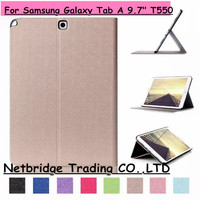 For Samsung Galaxy Tab A 9 7 T550 High Quality Flip PU Leather Case Smart Cover