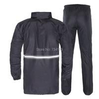 Raincoats large size waistline adult raincoat rain pants set Hooded Waterproof Rain jacket trousers zipper pocket fishing suit