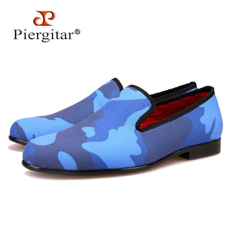 Hombres Piergitar Pero Apariencia Mocasín Clásico Para Un Estilo Tonos Azul Sofisticado Zapatillas Juguetón Cargar Fumar De Real Azules OpOqC