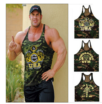 959d46e046b040 Camouflage Army Gym Tank Top Bodybuilding Undershirt World of Tanks Fitness  Men Gym Power Vest Men Golds Gym Muscle Mens Shirts