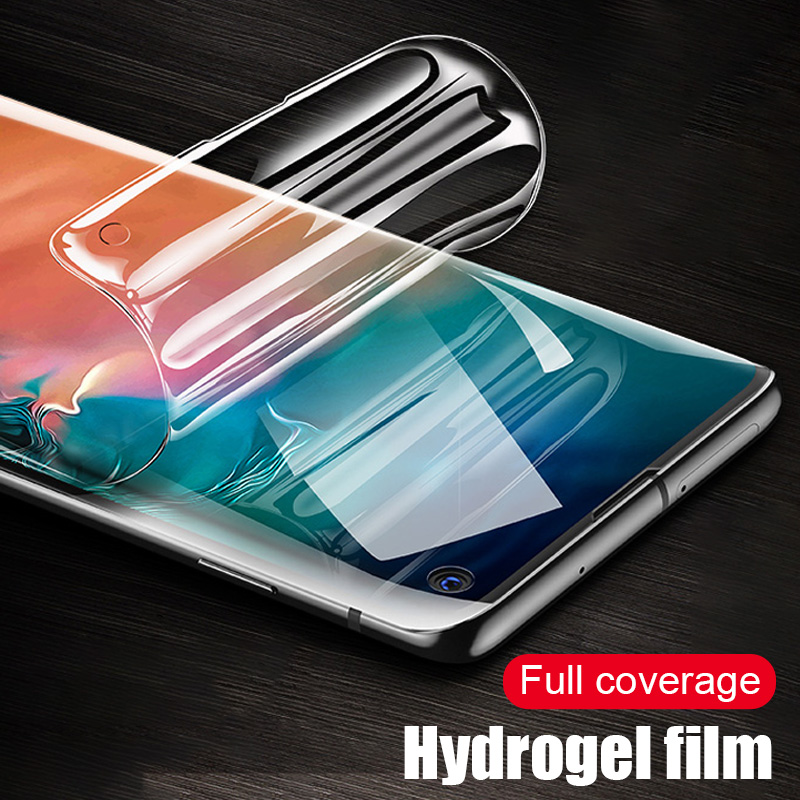 Full Cover Protection Hydrogel Film For Samsung Galaxy S10E Note 8 9 Screen Protector For Samsung S7 Edge S8 S9 S10 Plus FilmFull Cover Protection Hydrogel Film For Samsung Galaxy S10E Note 8 9 Screen Protector For Samsung S7 Edge S8 S9 S10 Plus Film