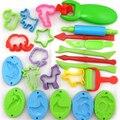 23 unids/lote play herramienta dough plastilina polymer clay limo molde de plastilina conjunto de herramientas kit para regalo de los cabritos