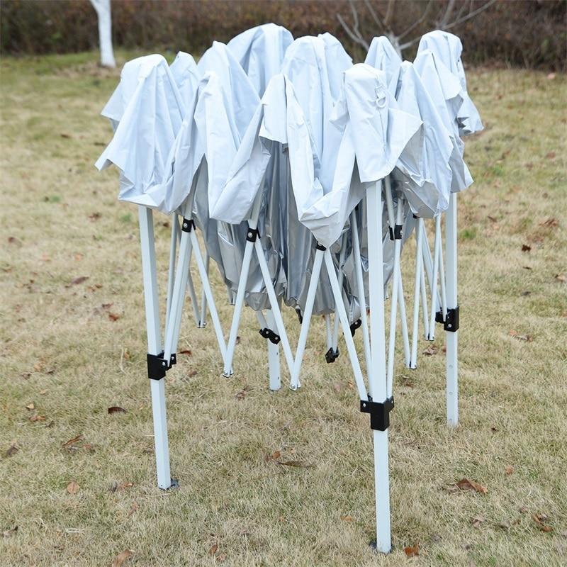10' X 10' EZ POP UP boda fiesta dosel bolsa de transporte a prueba de agua 210d Oxford tela recubierto marco de acero al aire libre toldo OP2828 - 6