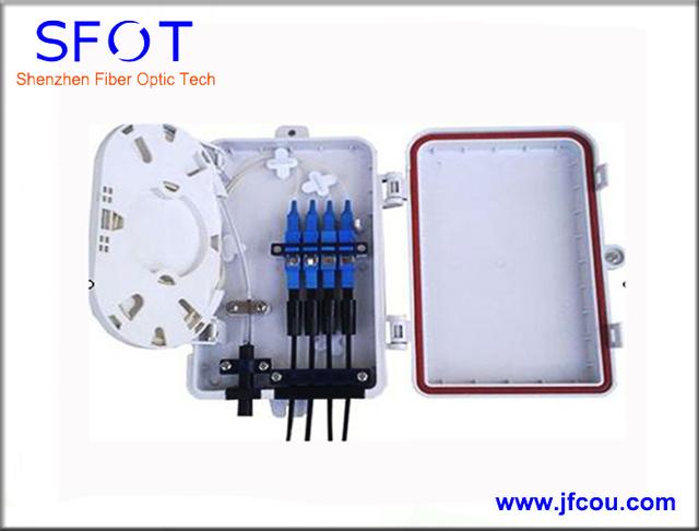 Mini FTTH Fibra Óptica Caja de Terminales Caja de Divisores