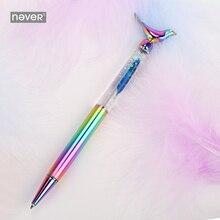 Роскошная металлическая подарочная ручка серии Never Fly Bird, перо 0,7 мм, шариковая ручка для бизнеса, офиса и школы, канцелярские принадлежности