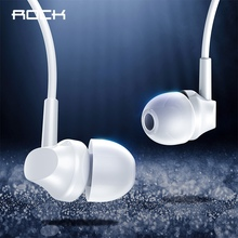 ROCK Music Earphone In-ear Earphone High Fidelity Stereo Earphone 3.5mm Jack wired Ear phones with mic for Mobile Phone Tablets smilyou cheapest earphone 3 5mm in ear wired ear phones with stereo bass earbuds for mobile phone mp3 mp4 music players pc