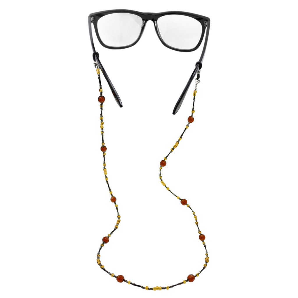 2 Pieces Beaded Glasses Cord Neck Unisex Lanyard Cord Chain Spectacle Sunglasses