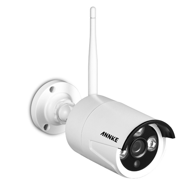 ANNKE 4CH CCTV System Wireless 960P NVR 4PCS 1.3MP IR Outdoor P2P Wifi IP CCTV Security Camera System Surveillance Kit