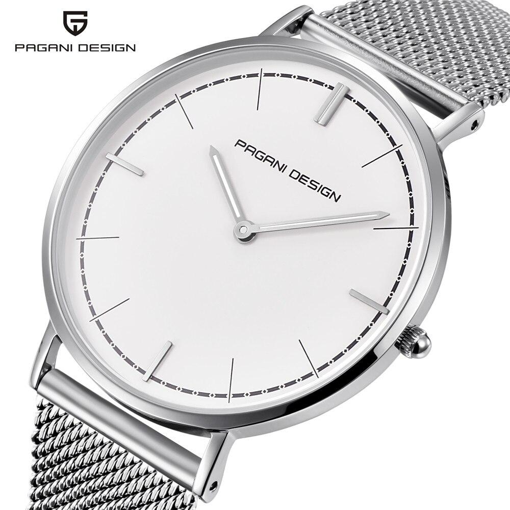 PAGANI DESIGN 2019 nouveau Style Simple hommes d'affaires montres Ultra mince mode Sport étanche hommes montre-bracelet livraison directe du fournisseur
