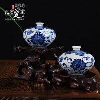 Siu Hong Jingdezhen ceramics the study of classical Chinese style decoration porcelain Mini vase ornaments