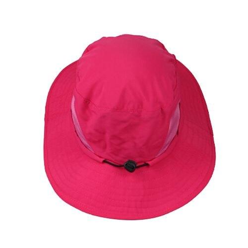 595d65721b5c86 Bucket Hat Boonie Hunting Outdoor Wide Brim Camo Sun Cap Fishing Rose Red  gray green khaki pink