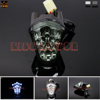 For YAMAHA YZF R6 YZF R6 2006 2007 Motorcycle Accessories Front Center Marker LED Pilot Light Smoke