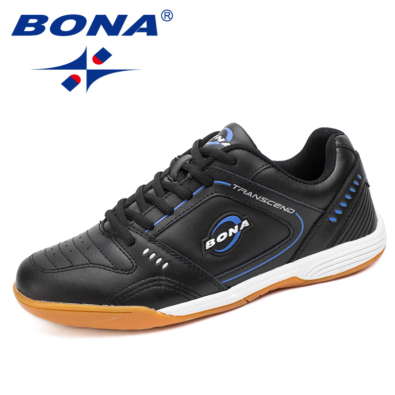 BONA New Typical Style Men Soccer Shoes Lace Up Men Professional Trainer Football Shoes Outdoor Jogging