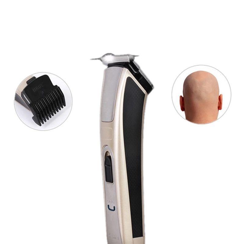 Tondeuse à cheveux professionnelle Salon de coiffure tondeuse à cheveux Rechargeable électrique coupe-cheveux rasage Machine rasoir KM-5017 - 3