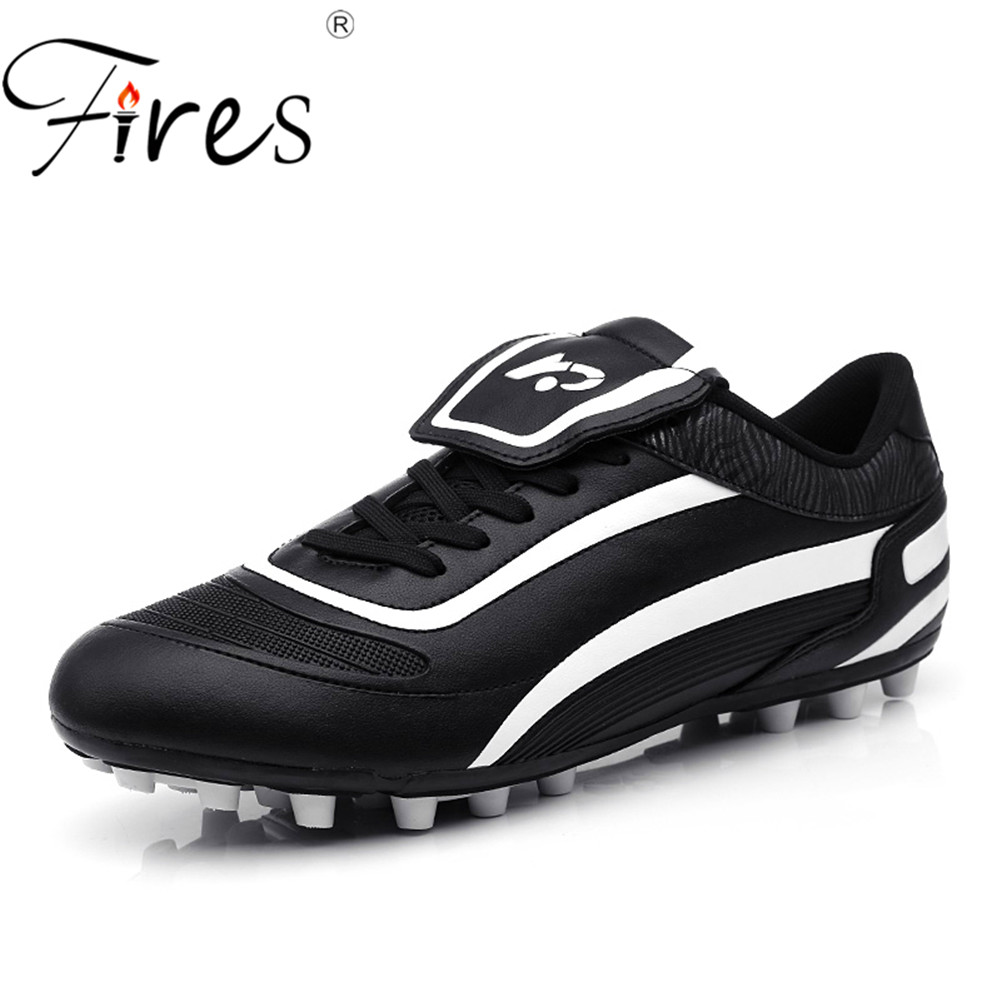 7415a52a8140 Fires Man Football Shoes Chuteira Futebol Long Spikes Sports Outdoor Soccer  Shoes For Men Waterproof Shoes Brand Big Size 45