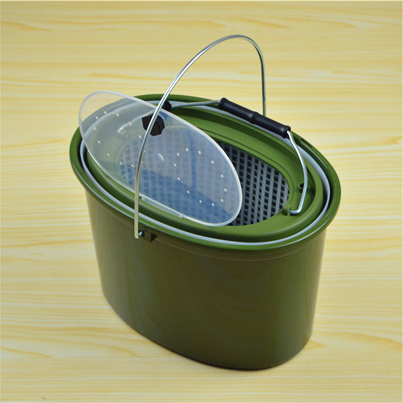 5L fishing bucket fish tank plastic bucket fishing tackle box fishing tackle