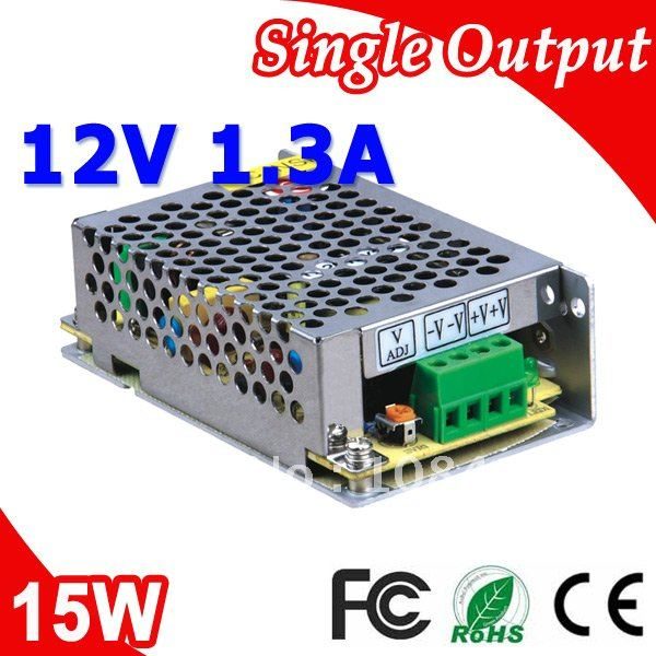MS-15-12 Mini size Switching Power Supply 15W 12V 1.3A in stocks