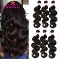 Peruvian Virgin Hair Body Wave 4 Bundles Queen Hair Products Peruvian Human Hair Bundles 8A Unprocessed Peruvian Virgin Hair