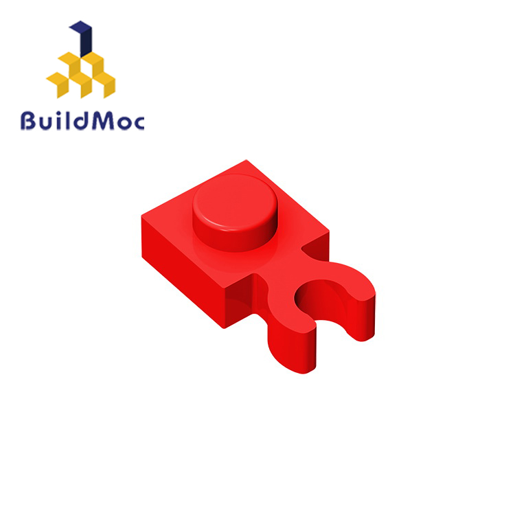 Buildmoc compatível monta partículas 60897 4085 1x1 para blocos de construção peças diy logotipo educacional