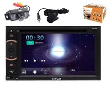 Android 5.1 Car Stereo 2 Din Car DVD Player 1080P Video Navigation Vehicle GPS Unit Radio Audio Receiver WiFi+Reversing Camera