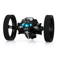 Mini Gifts Bounce Car 2 4GHz RC Bounce Car With Flexible Wheels Rotation LED Light Remote