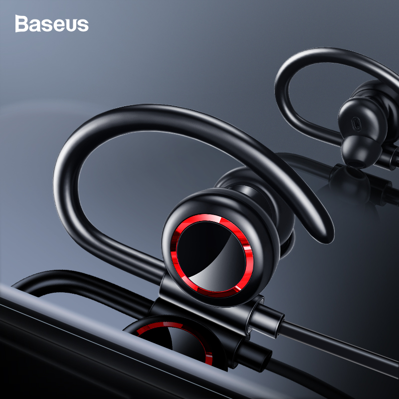 Baseus S17 Sport Wireless Earphone Bluetooth 5.0 Earphone Headphone For Xiaomi iPhone Ear Phone Buds Handsfree Headset Earbuds