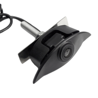 Logo samochodu widok z przodu kamery Hd Night Vision kamera parkowania dla Volvo Sl40 Sl80 Xc60 Xc90 S40 S80 C70 C30 v40 V50 V60 S80 w Kamery pojazdowe od Samochody i motocykle na