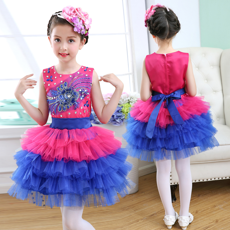 Luxury Designer Celebrity Wedding Party Evening Gown Layered Dress Boutique Rainbow Cupcake Pageant Dresses for Girls Glitz new arrival 2017 children party dress for girls 2 to 10 years beauty glitz cupcake pageant special occasion dresses baby