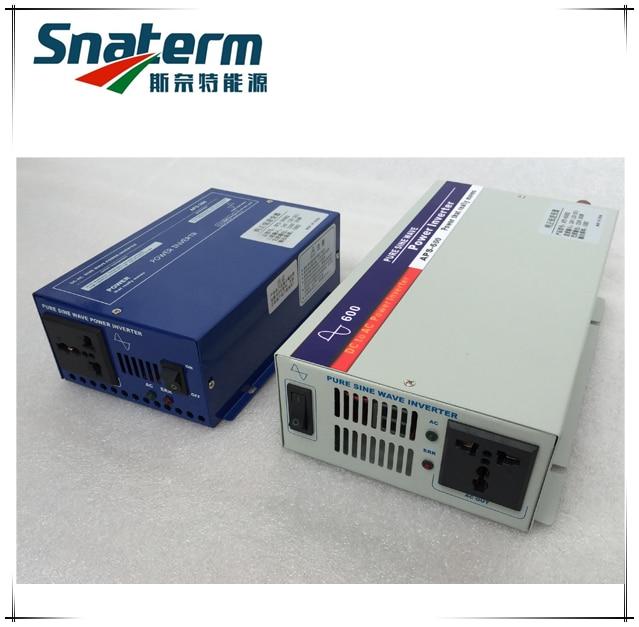 600Watts DC12V 24V 48V to AC230V 110V 50HZ 60HZ Pure sine wave off grid power inverter