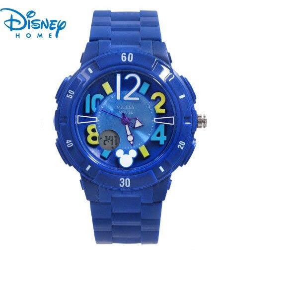 100% Подлинная Disney Микки часы Дети Мода Цифровые спортивные Часы relogio Часы мужчины смотреть SP80035-3