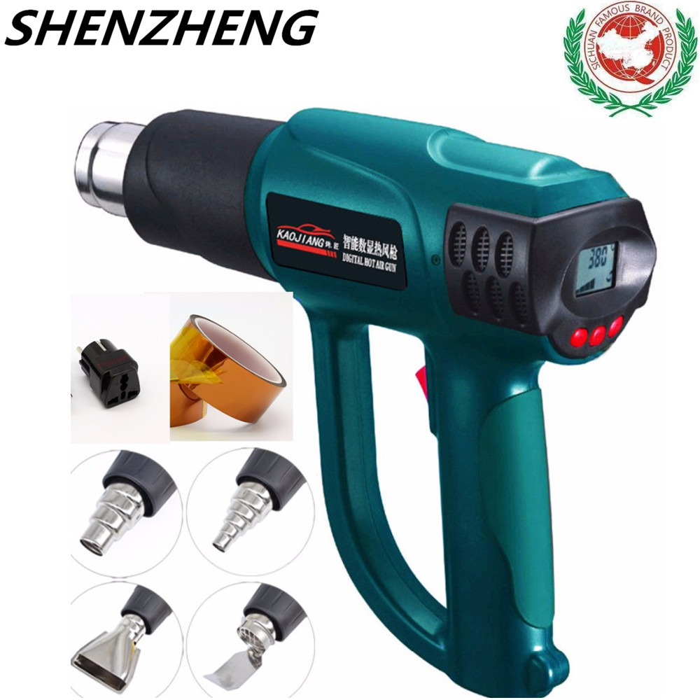 Portable industrial blow dryer solder Electric build tool thermal hair technic gun CONSTRUction