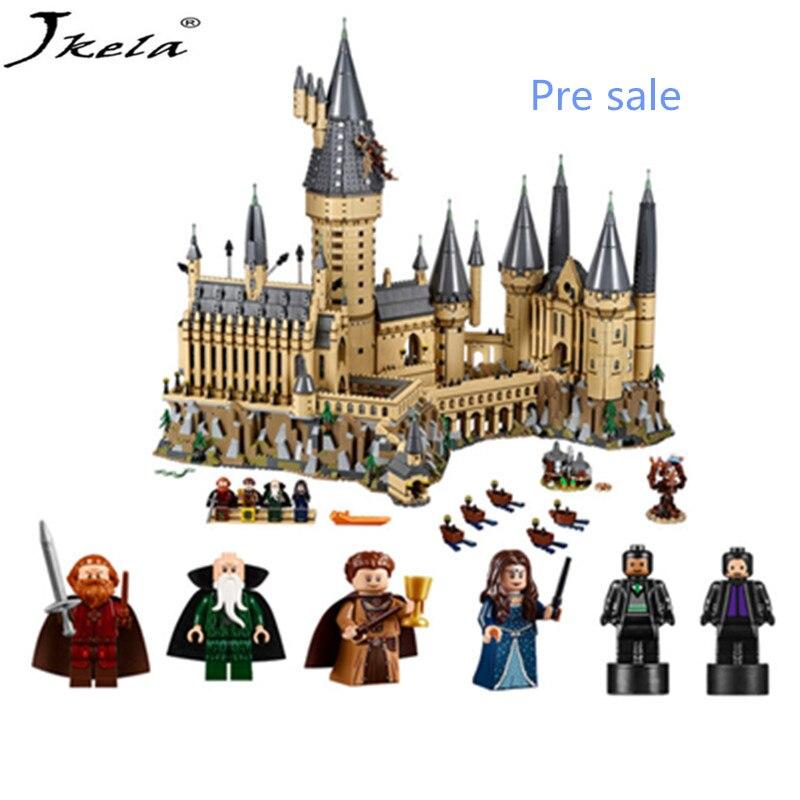 Harry Potter Magie Hogwart Burg Kompatibel Legoingly burg 16060 71043 Bouwstenen Bakstenen Kinderen Kerst DIY Speelgoed