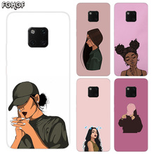 Beautiful Girls TPU Silicone Phone Back Cases For Huawei Mate 20X 20 10 9 Pro 8 7 Shell Hull Heart Bumper Cover
