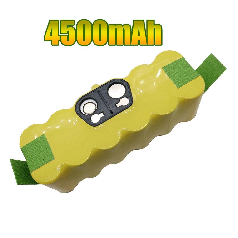 14.4V 4500mAh Ni-MH Battery for iRobot Roomba Vacuum Cleaner for 500 560 530 510 562 550 570 581 610 650 790 780 532 760 770 цена 2017