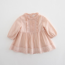 Baby Girls Clothing for Babies Vintage Dress Lantern Sleeve Newborn In