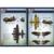 OHS Meng mPLANE002 Q Versin Asamblea Fuerza Aérea Bombardero Lancaster Kits de Edificio Modelo