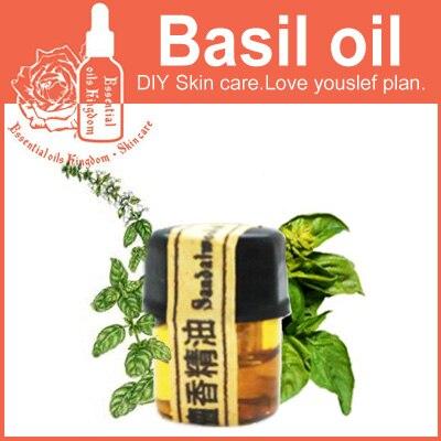 100% чистый завод эфирные масла Египет импортирует базилик масло 2 мл мигрени менструации