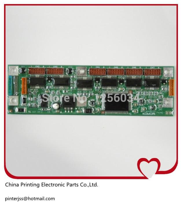 1 piece ink key control board for Komori printing machine FKMD-6, PCH-865-6, PCH-862-6 5ZE-6701-020 original komori board bosch pch 615b90e
