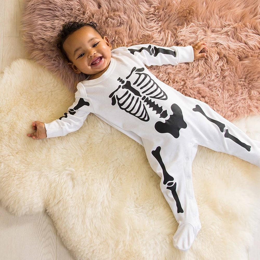 newborn baby boy girls romper bodysuit infant kids halloween costume