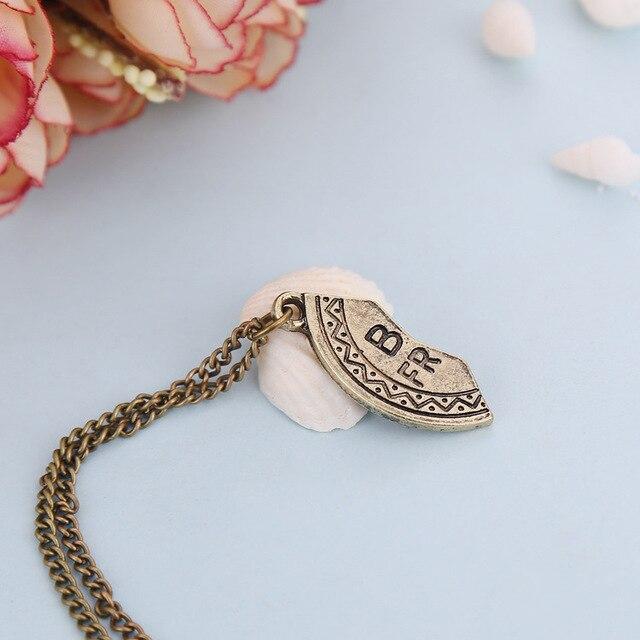 Ожерелье с подвеской в виде разбитого сердца 3 части