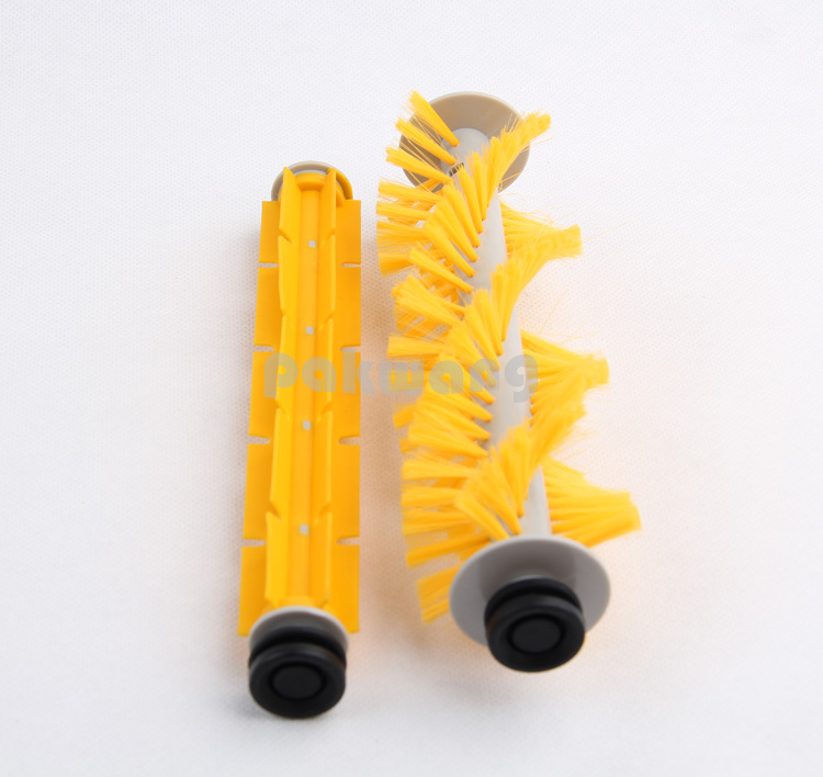 (For Cleaner-A320/A325/A330/A335/A336/A337/A338) Spare part for Robot Vacuum Cleaner, Rubber Brush,Side Brush for cleaner a320 a325 a330 a335 a336 a337 a338 spare part for robot vacuum cleaner rubber brush side brush vacuum cleaner parts