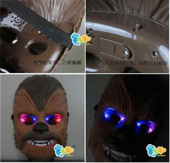 Яркая Голосовая маска Звездные Войны Пробуждение силы Чубакка электронная